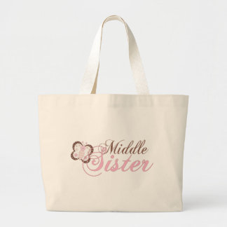 Hermana rosada del centro de la mariposa 2 bolsas