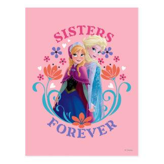 Hermanas de Ana y de Elsa el | con las flores Tarjetas Postales