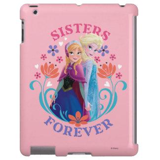 Hermanas de Ana y de Elsa para siempre Funda Para iPad
