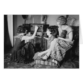 Hermanas de Brox: los años 20 Tarjeta De Felicitación