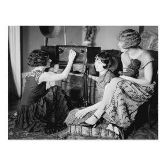 Hermanas de Brox: los años 20 Tarjeta Postal