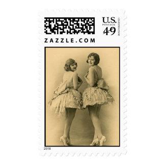 Hermanas de la bailarina sellos