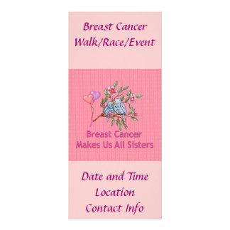 Hermanas del cáncer de pecho lonas