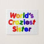 Hermanas divertidas de la diversión: La hermana má Puzzle Con Fotos