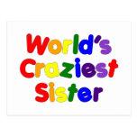 Hermanas divertidas de la diversión: La hermana má Tarjeta Postal