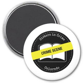 Hermanas en los imanes de Colorado del crimen Imán Redondo 7 Cm