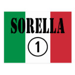 Hermanas italianas: Uno de Sorella Numero Postal