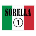 Hermanas italianas: Uno de Sorella Numero Tarjeta Postal