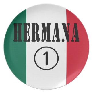 Hermanas mexicanas Uno de Hermana Numero Platos