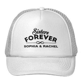 Hermanas para siempre gorras de camionero