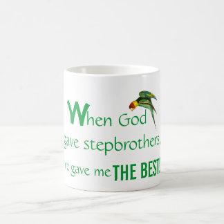 Hermanastro personal de la taza del día de padre