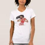 Hermandad roja y blanca de la hermandad de mujeres camisetas