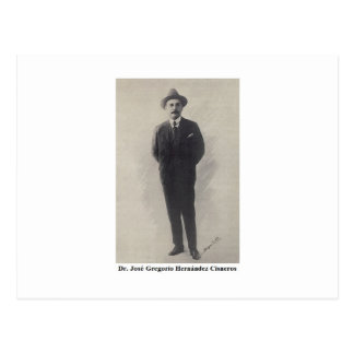 Hermanito Gregorio Hernandez Postcard