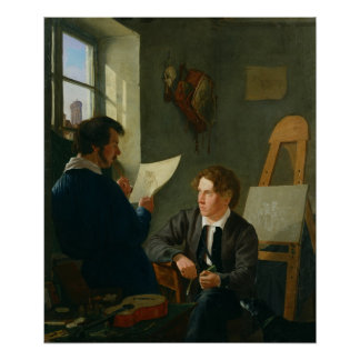 Hermann Kauffmann and Georg Haeselich Poster