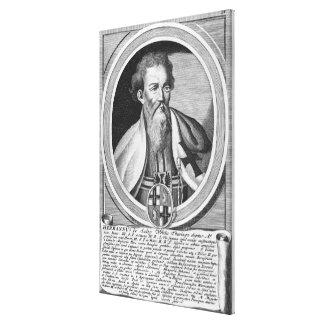 Hermann of Salza Stretched Canvas Print