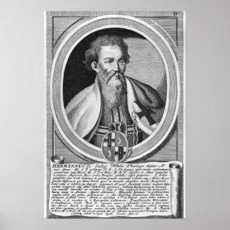 Hermann of Salza Print