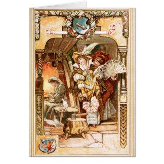 Hermann Vogel - Cinderella Card