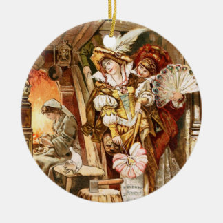 Hermann Vogel - Cinderella Ceramic Ornament
