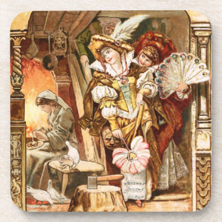Hermann Vogel - Cinderella Drink Coaster