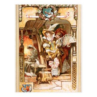 Hermann Vogel - Cinderella Postcard