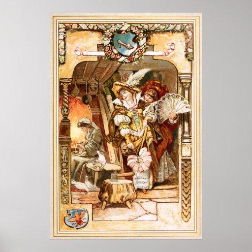 Hermann Vogel - Cinderella Poster
