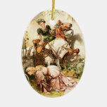 Hermann Vogel - el chica del ganso Ornamentos De Reyes