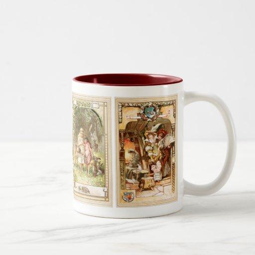 Hermann Vogel - Fairy Tales Two-Tone Coffee Mug