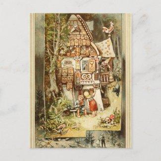 Hermann Vogel: Hansel and Grethel