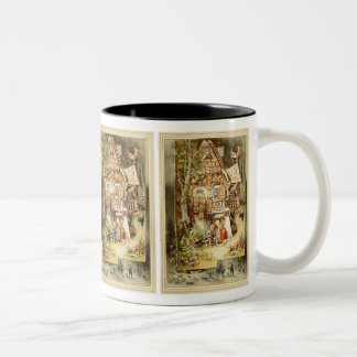 Hermann Vogel - Hansel and Grethel Two-Tone Coffee Mug