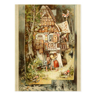 Hermann Vogel - Hansel y Grethel Postal