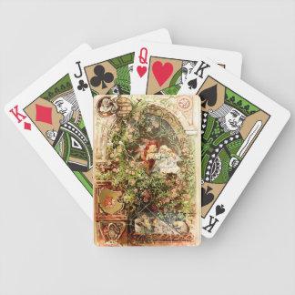 Hermann Vogel - Sleeping Beauty Bicycle Playing Cards