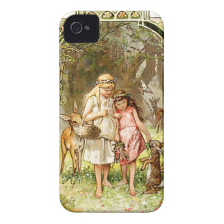 Hermann Vogel - Snow White and Rose Red Case-Mate iPhone 4 Case