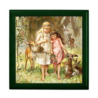 Hermann Vogel: Snow White and Rose Red