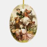 Hermann Vogel - The Goose Girl Ornament