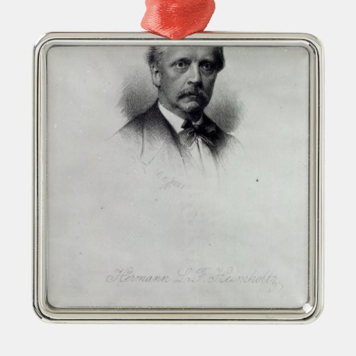 Hermann von Helmholtz, engraved by C.H Jeens Christmas Ornaments