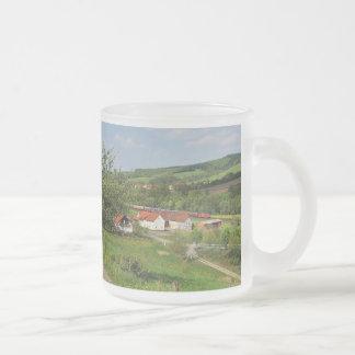 Hermannspiegel in the Haunetal Frosted Glass Coffee Mug