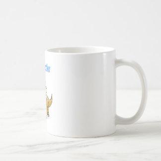 hermano del bebé del dinosaurio tazas de café