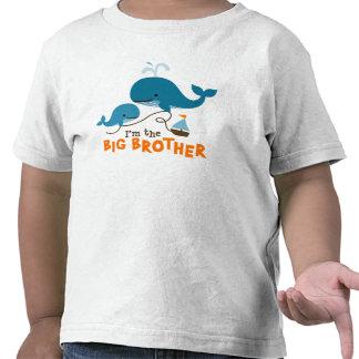 Hermano mayor - ballena de la MOD Camiseta