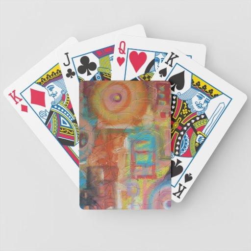 Hermano mayor baraja cartas de poker