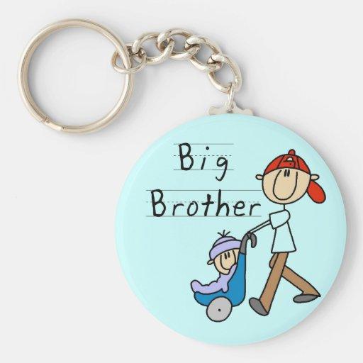 Hermano mayor con pequeño Brother Llavero Personalizado