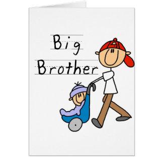 Hermano mayor con pequeño Brother Tarjeta De Felicitación