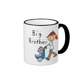 Hermano mayor con pequeño Brother Taza De Dos Colores