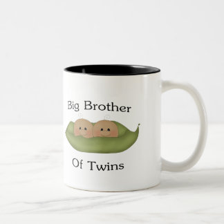 Hermano mayor de gemelos taza