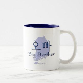 Hermano mayor de un chica Corea Tazas De Café
