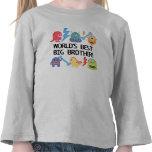 Hermano mayor del mundo de los monstruos mejor camiseta
