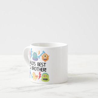 Hermano mayor del mundo de los monstruos mejor tazita espresso