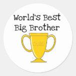 Hermano mayor del mundo del campeón mejor etiqueta