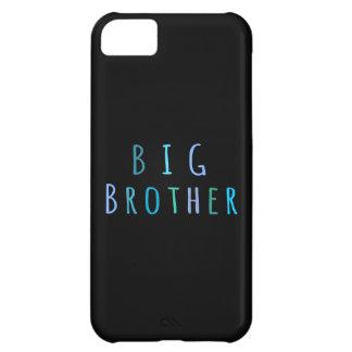 Hermano mayor en azul