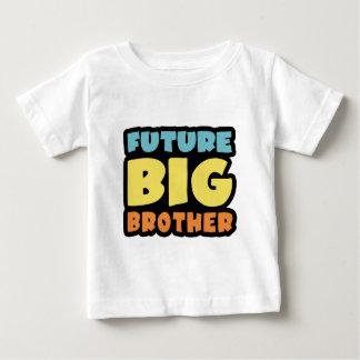 Hermano mayor futuro playera de bebé