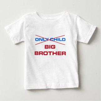 Hermano mayor - no hijo único más playera de bebé